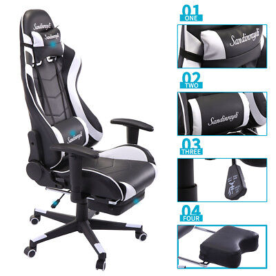 New Gaming Direct High-back Computer Chair Ergonomic Design Racing Chair Home