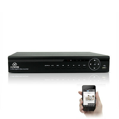 8CH Full 1080N H.264 HDMI Network CCTV DVR Security Video Recorder For 8 Cameras