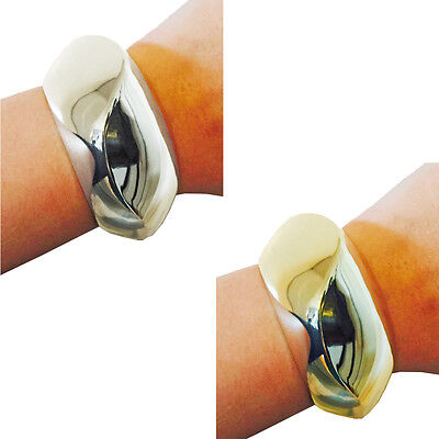 SASHA Gold or Silver Bracelet Hides Fitbit Flex/Flex 2 Fitness Activity Trackers
