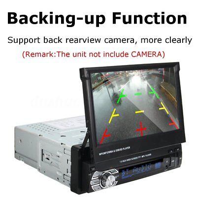 7'' HD Bluetooth Touch Screen Car Stereo Radio Player 1 DIN FM/MP5/MP3/USB/AUX X