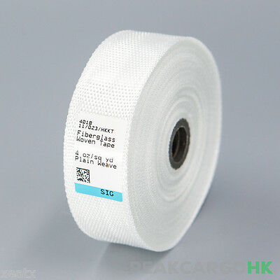 Fiberglass Cloth Ribbon Tape E-glass 1 Wide X 30 Yd. Fiber Plain Weave Model