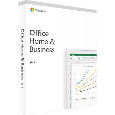 Microsoft Office 2019 Home and Business - Dauerhaft Gültig - Software Download