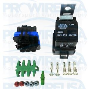 Waterproof-Relay-Kit-40-Amp-Sealed-Relay-Motec-Bosch-AEM-Honda-Tuner