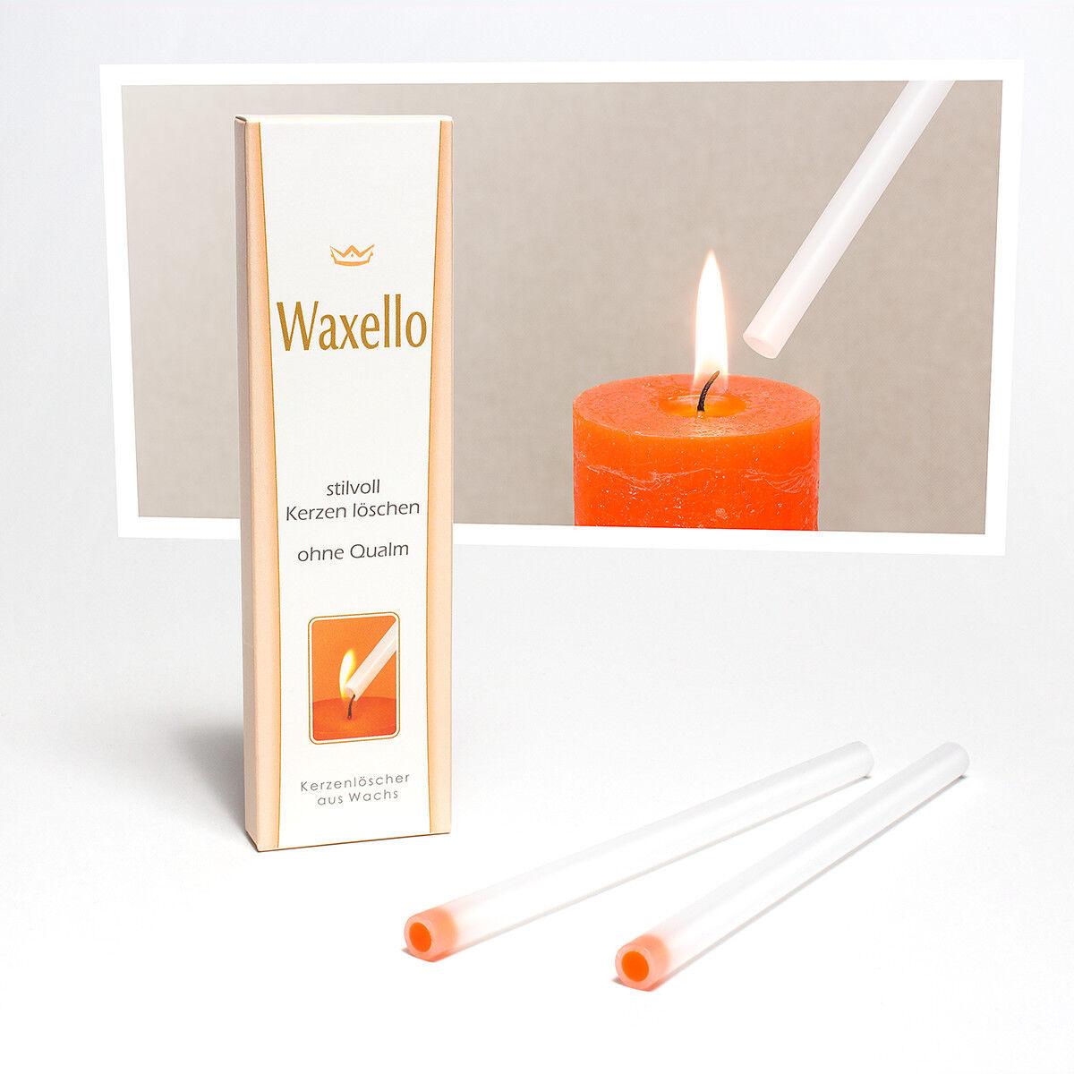 Kerzenlöscher - Waxello, Stilvoll Kerzen löschen ohne Qualm und Geruch - Patent