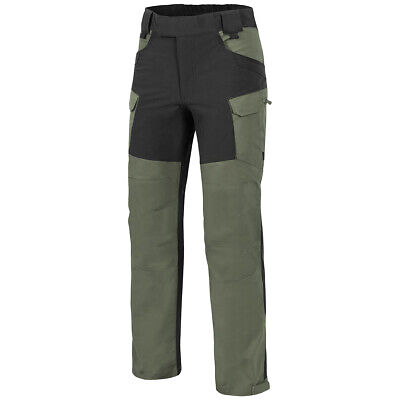 Helikon-Tex Hybrid Outback Pants DuraCanvas Mens Trousers Taiga Green Black