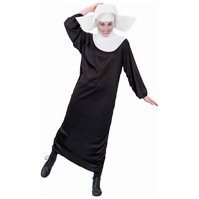 Halloween Costume Nun (Flying Nun Costume Adult Halloween Fancy)
