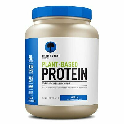 Isopure by Nature's Best Plant Based Protein Powder (vegan/ vegetarian) (Best Vegan Plant Based Protein Powder)