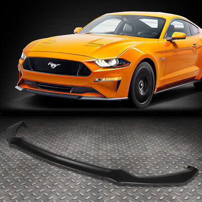 - FOR 2015-2017 FORD MUSTANG OE GT STYLE FRONT BUMPER LIP LOWER SPOILER BODY KIT