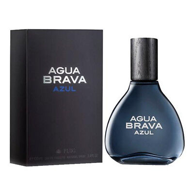 Agua Brava Azul By Antonio Puig for Men Edt Spray 3.4 Oz 3.3 New in Box