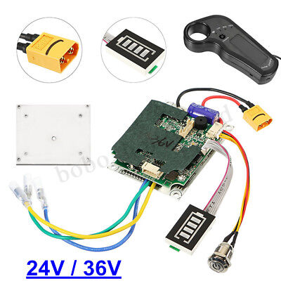 24/36V Single Motor Electric Longboard Skateboard Controller w/ ESC Replacement