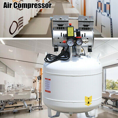Portable Dental Medical Air Compressor Silent Noiseless Oilless Tire Inflation
