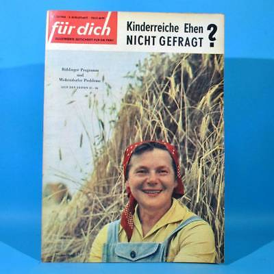 DDR FÜR DICH 33 1964 Rosarium Sangerhausen Michendorf CSSR Bautzen kinderreich Y