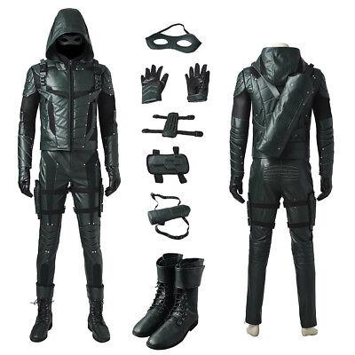 The Green Arrow Season 5 Oliver Queen Cosplay - Green Arrow Kostüm