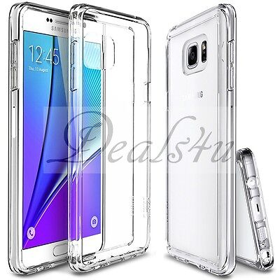 New Slim Transparent Crystal Clear Hard TPU Case Cover For Samsung Galaxy s7