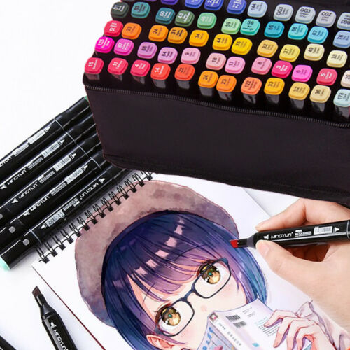 80Satz Graphic Marker TouchFive Twin Alcohol Sketch Marker Pen painting markers
