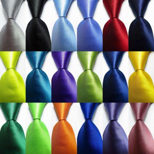 New Classic Checks Jacquard Woven 100% Silk Men