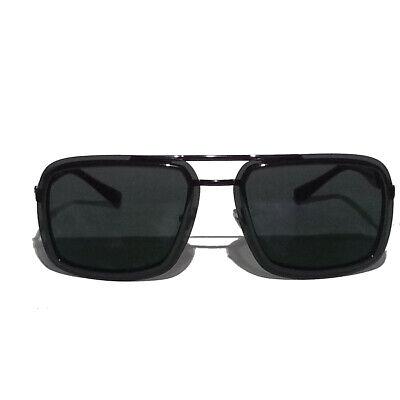Versace Men Sunglasses Rectangular Black Made in ITALY mod.2183