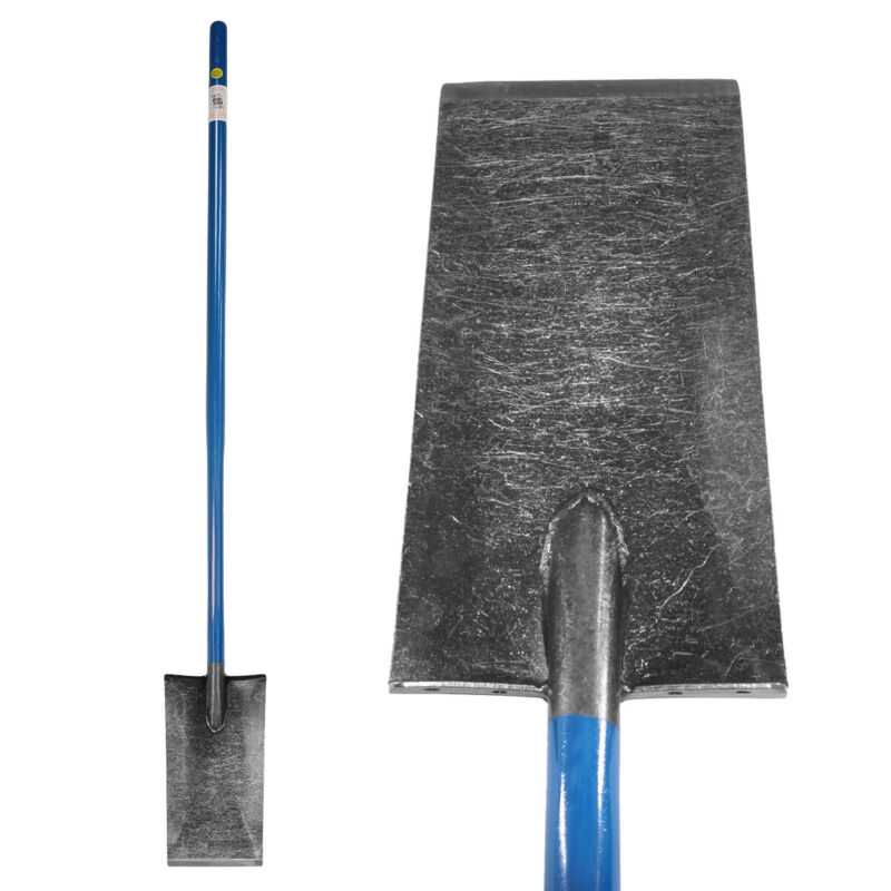 """King of Spades with 13"""" Blade and Long Handle for Gardening and Landscaping"""
