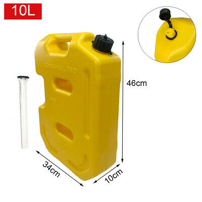 10l Jerry Can Gas Fuel Tank 2.6gallon Petrol Motorcyclecar Storage Container