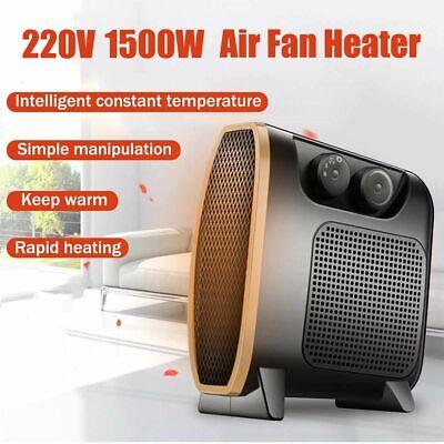 Portátil Oficina Calentador Mini Eléctrico Hogar Calefactor Ventilador Util Aire