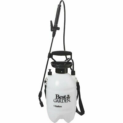 Best Garden 1 Gallon Tank Sprayer With Fiberglass Wand - NEW - Free (Best 1 Gallon Sprayer)