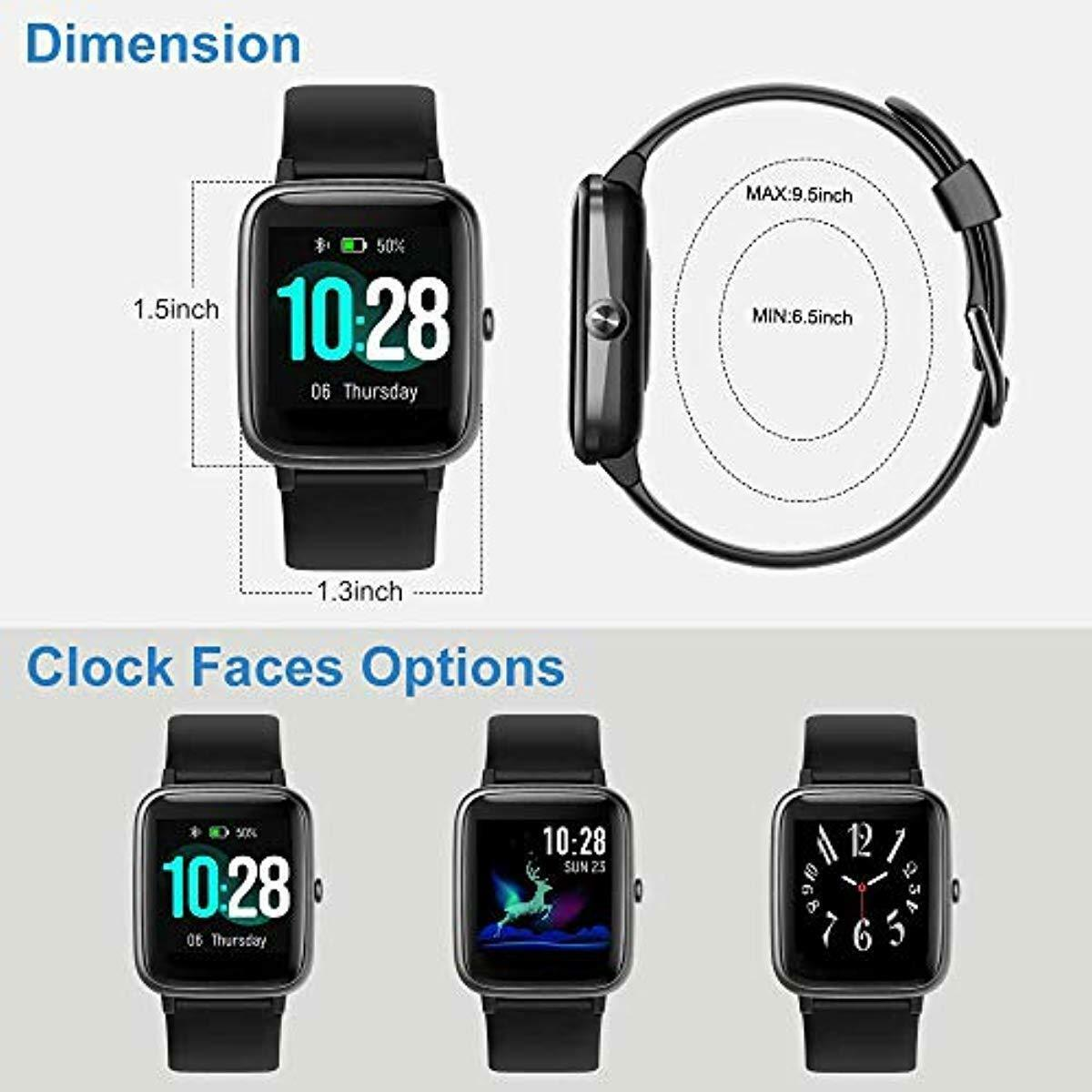 Willful Smart Watch for Android Phones and iOS Phones Compat