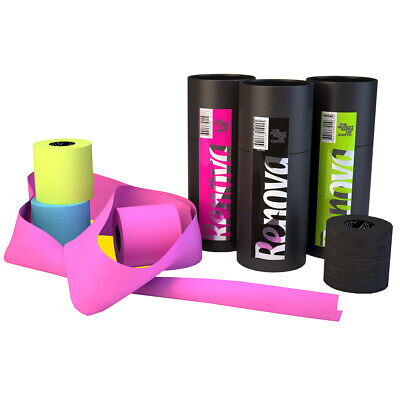 Colored Paper Rolls (Luxury Scented Colored Toilet Paper Gift Box 3 Rolls 3-Ply Bath Tissue)