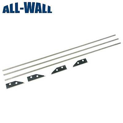 12-inch Flat Box Repair Kit For Tapetech Level5 Drywall Master New