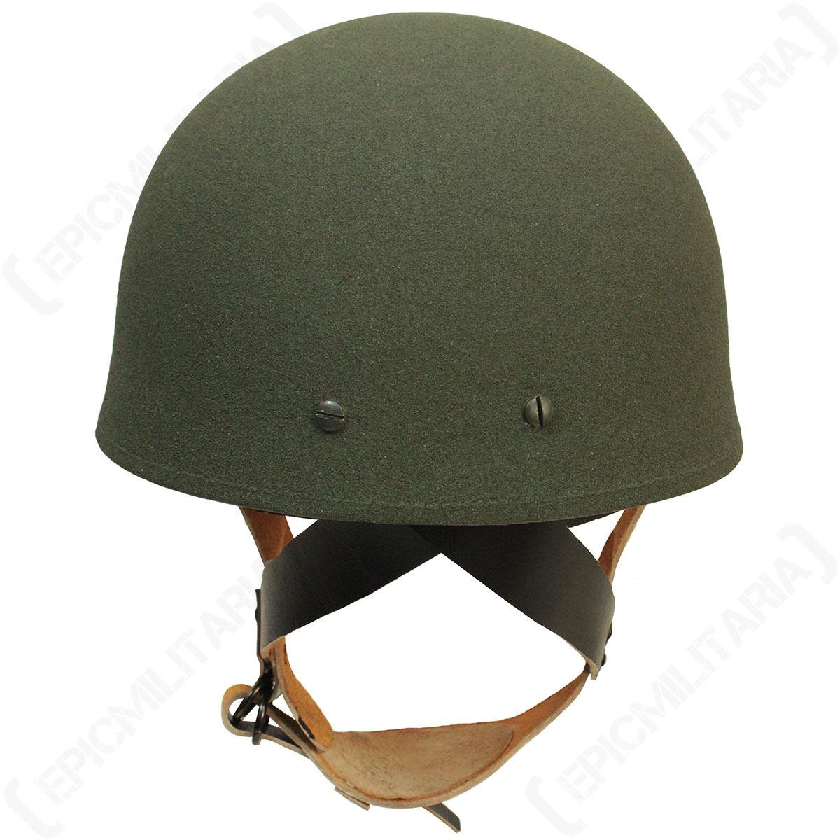WW2 BRITISH PARATROOPER Helmet - Repro Army Para Soldier ...