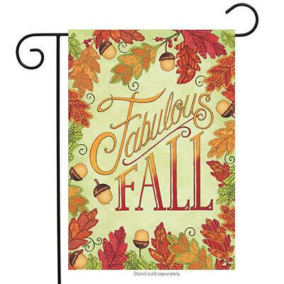 Fabulous Fall Primitive Garden Flag