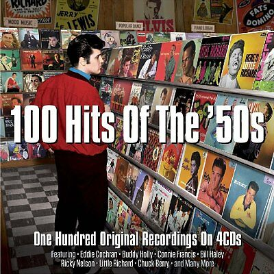 100 Hits Of The 50S Various Artists Best Of 100 Essential Classic Songs New 4 Cd