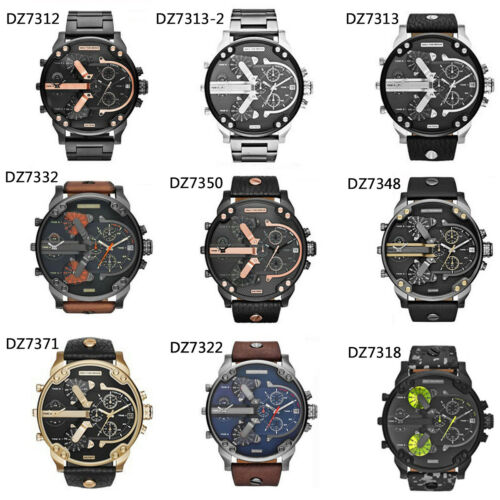 Men's US Fashion Luxury Watch Stainless Steel Sport Analog Quartz Wristwatches