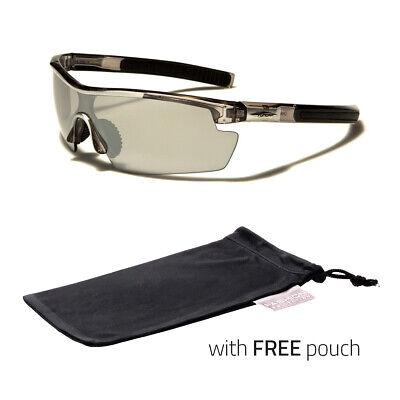 Sport Anti Glare Wrap Driving Vision Sunglasses High Definition Glasses (Anti Glare Clear Glasses)