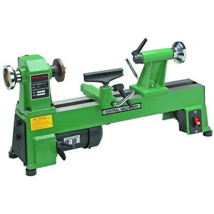 Brand new 10 x 18 heavy duty 5 speed bench top wood lathe for Best garden tools brand