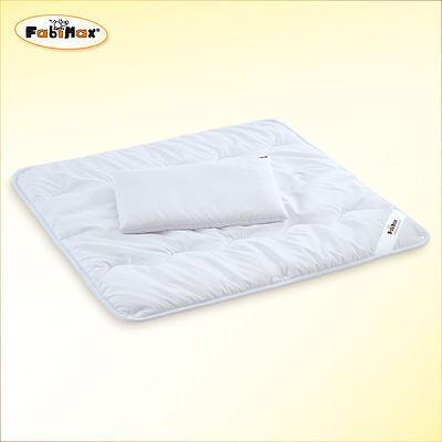 Baby Bettdecke/Kissen für Stubenwagen Beistellbetten Wiegen Kinderwagen 80x80