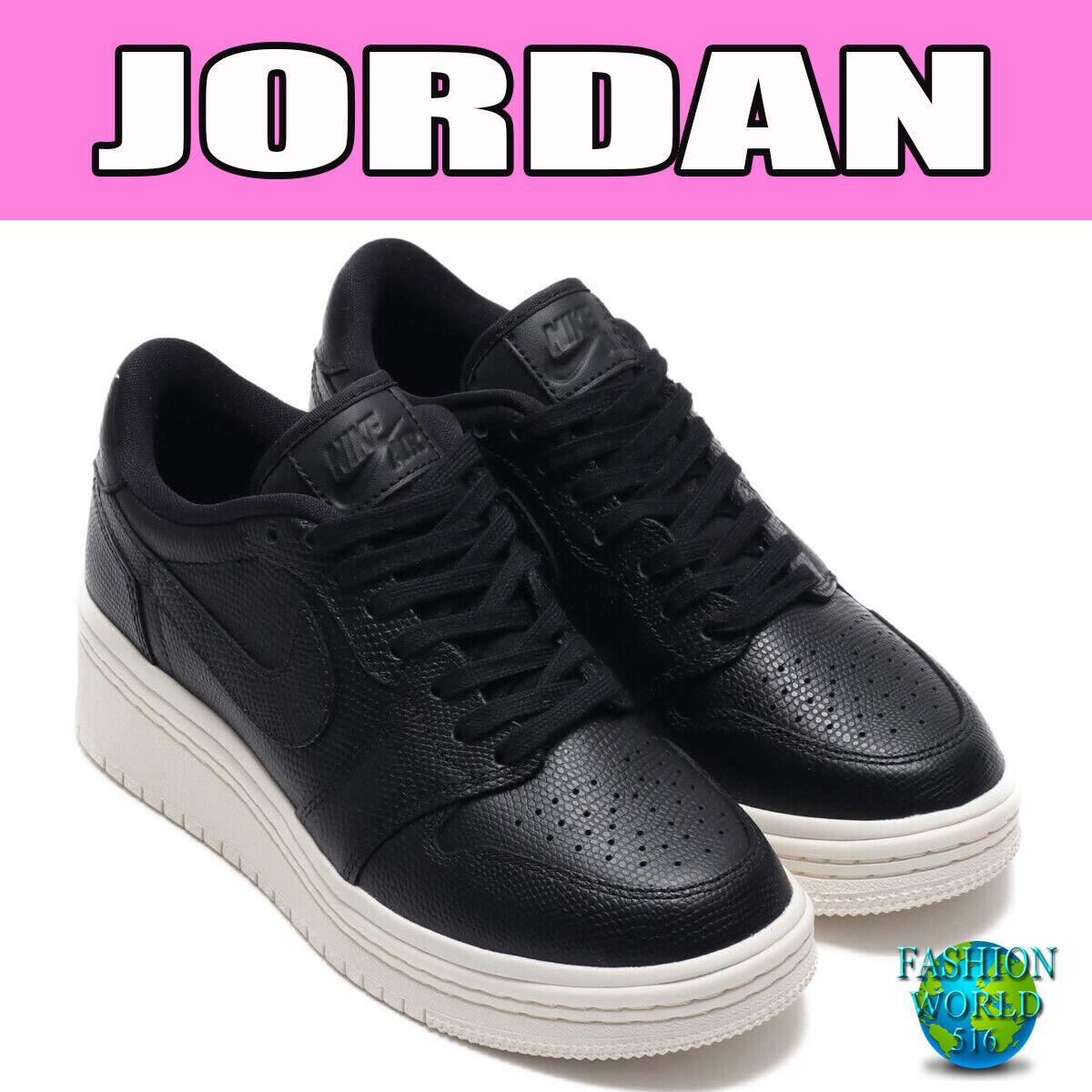 Nike Womens Size 75 Air Jordan 1 RE Low LIFTD Phantom Women Wedge Shoes AO1334
