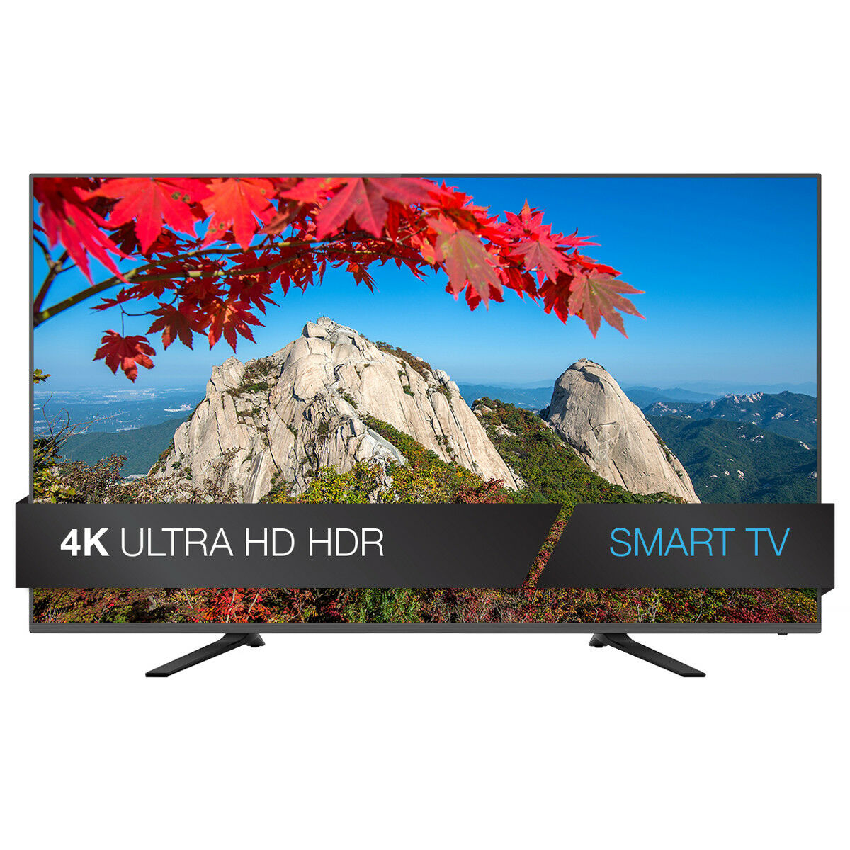 "JVC 65"" Class 4K Ultra HD (2160p) HDR Smart LED TV Built-in WiFi Wall-Mountable"