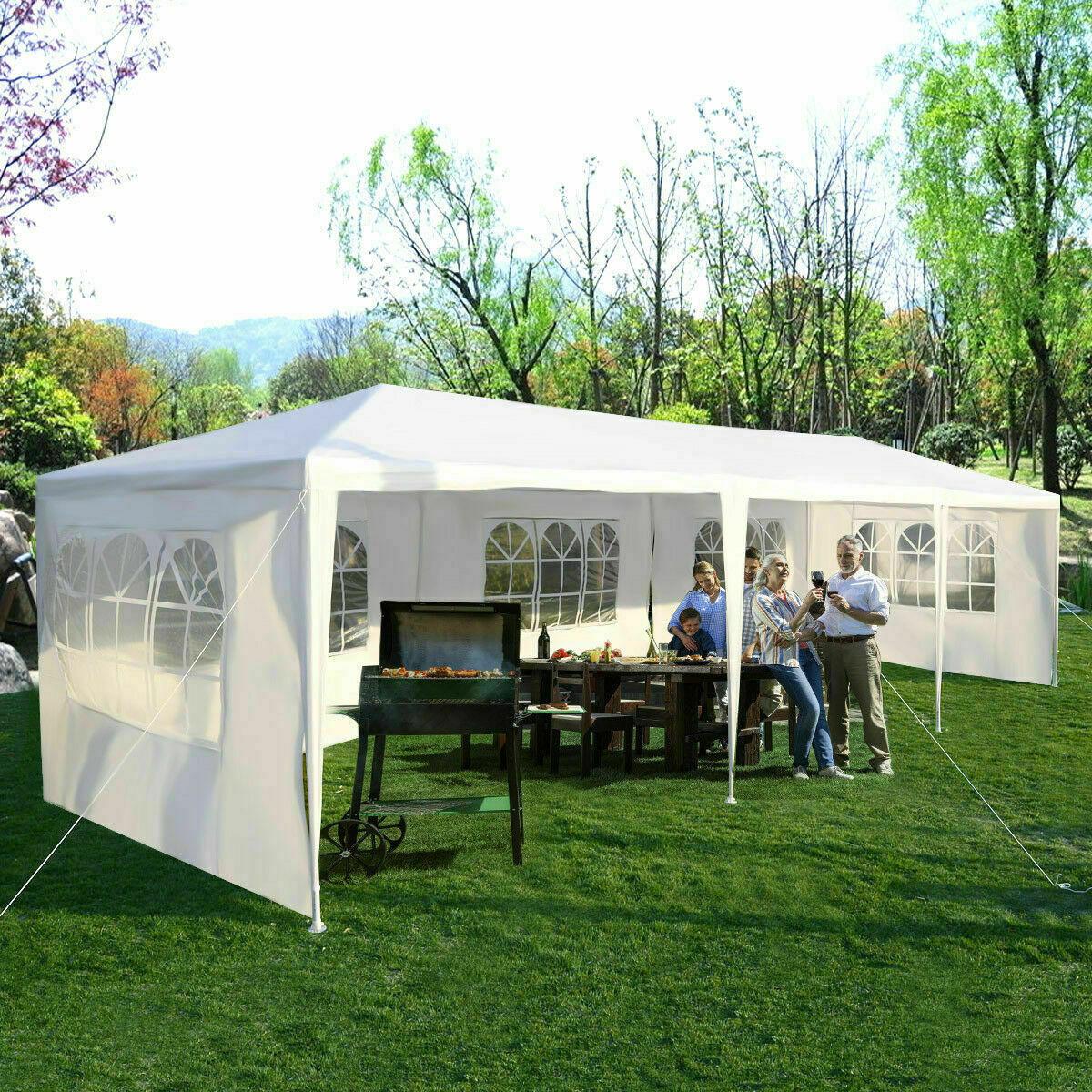 10'x30' Party Wedding Outdoor Patio Tent Canopy Heavy duty G