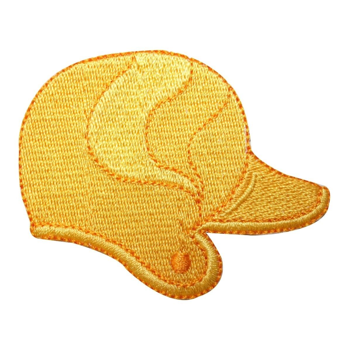 ID 1589B Batting Helmet Patch Baseball Softball Bat Embroide