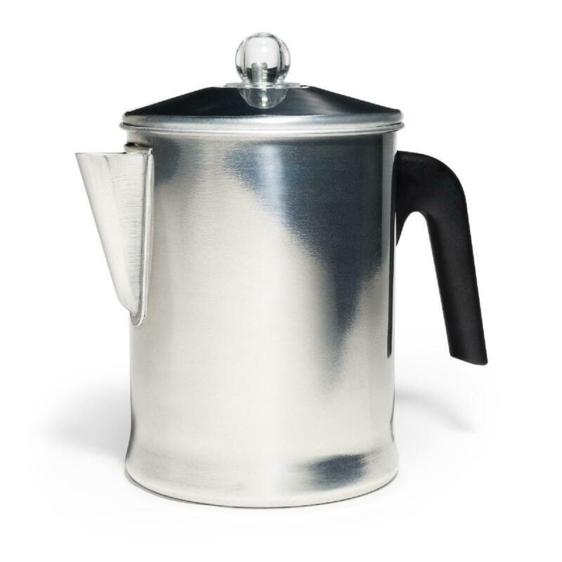 Heavy Duty Stove Top Percolator Yosemite Coffee Pot Maker 9-