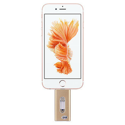 64GB Extra Storage USB i-Flash Drive Memory Stick for iPhone 6 6S iPad Android
