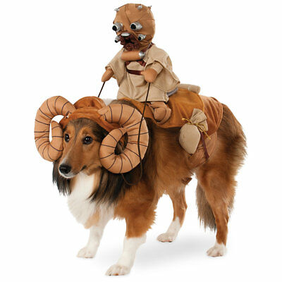 Disney Store Bantha w/Tusken Raider Star Wars 11-20 POUND Pet Dog Cat Costume