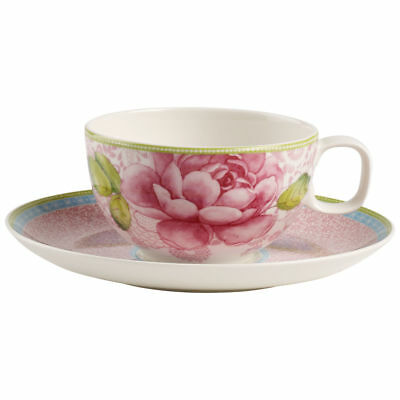 Villeroy & Boch - Rose Cottage - Tazza the con piattino Rosa  - Rivenditore Rosa Rose Cottage