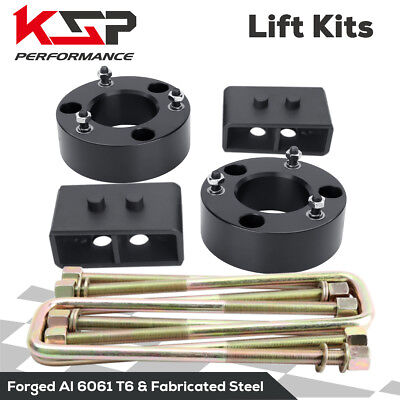 2.5'' Front and 3 inch Rear Leveling lift kit for 2004-2016 Ford F150 2WD (2 Inch Lift Blocks And U Bolts)