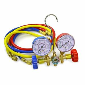 how to read refrigerant gauges