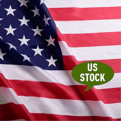 3 X 5 Ft Usa Us U S  American Flag Polyester Stars Brass Grommets