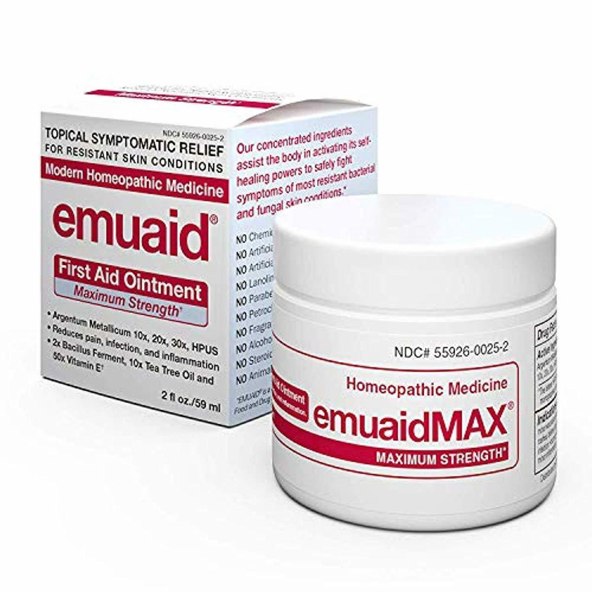 EmuaidMAX® Ointment - Antifungal, Eczema Cream. Maximum Str