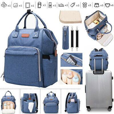 Diaper bag backpack Baby Travel waterproof large pack mummy baby