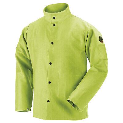 Revco Fl9-30c Truguard 200 Fr Cotton Welding Jacket Safety Lime Size Medium