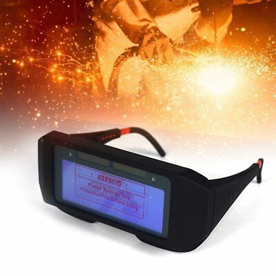 Solar Powered Auto Darkening Welding Mask Helmet Eyes Goggle Welder Glasses Usa